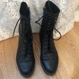 Vince Camuto Shoes - Vince Camuto Combat Boots